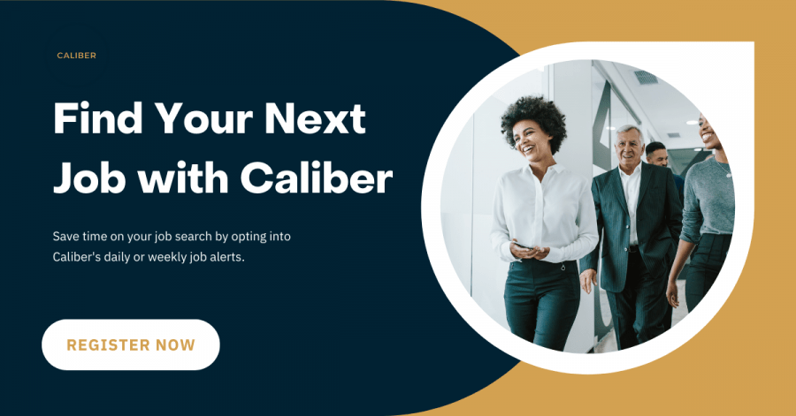 Caliber Sourcing Job Alerts